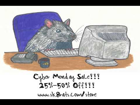 SK8RATS Cyber Monday Sale!!