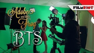 Adobe and the Frog BTS!