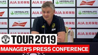 Manchester United | Tottenham Hotspur | Ole Gunnar Solskjaer Post Match Press Conference | Tour 2019