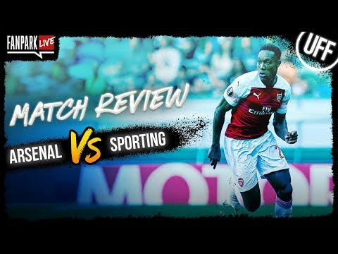 Arsenal 0-0 Sporting - Match Review - FanPark Live
