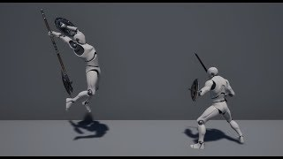 Unreal Engine 4 - Dynamic Combat System Preview