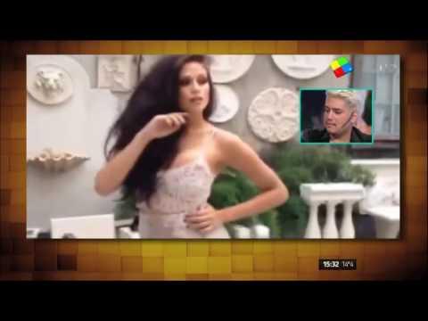 El maquillador y amigo de Barbie mostró un video inédito de los moretones de la hija de Nazarena