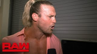 Dolph Ziggler has a lot to prepare for at SummerSlam: Raw Exclusive, Aug. 5, 2019