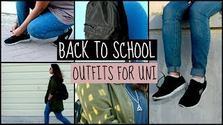 Back to school outfit ideas for university (2017)