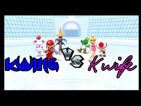 Gaming with the Kwings - Mario Sports Mix: Kwing VS Kwife