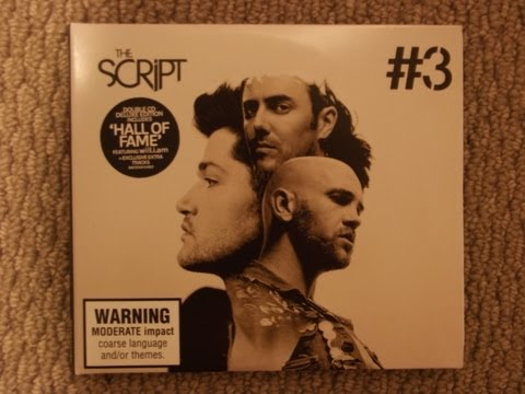 "Opening ""#3 Deluxe Edition"" by The Script"
