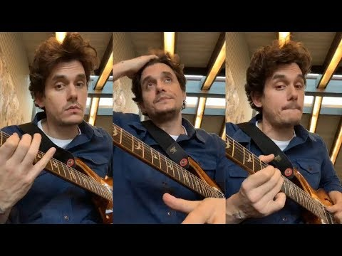 Download Lagu  John Mayer Gives Blues Guitar Lessons to his fans | Instagram Live Stream -14 January 2019 Mp3 Free