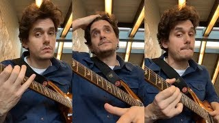 John Mayer Gives Blues Guitar Lessons to his fans   Instagram Live Stream -14 January 2019