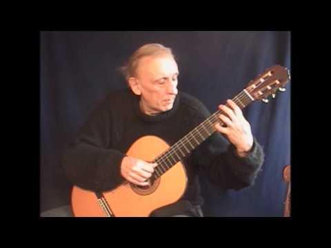 Andrés Segovia - Estudio sin luz by Cesar Amaro