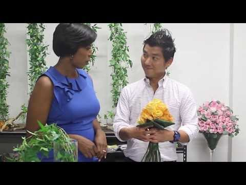 How To Video  Type Of Foliage For Flower Arranging With Celebrity Interior Designer Cathy Hobbs