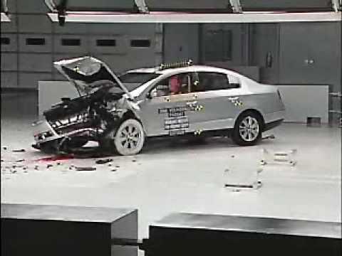 crash test 2006 2010 volkswagen passat present. Black Bedroom Furniture Sets. Home Design Ideas