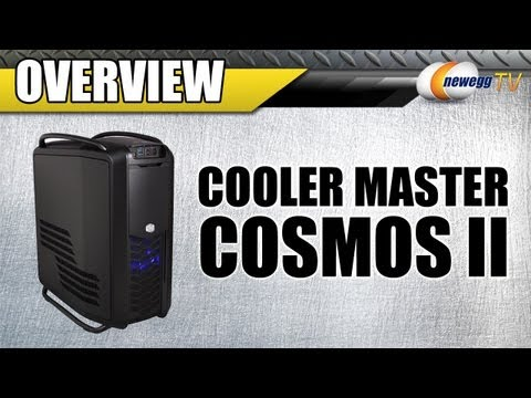 Newegg TV: COOLER MASTER COSMOS II Black Steel ATX Full Tower Computer Case Preview