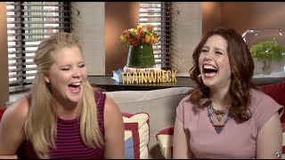 UNCENSORED Amy Schumer TRAINWRECK Interview with Vanessa Bayer [DIRTY]