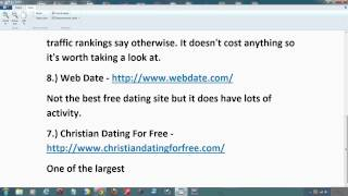 The Top 10 Free Online Dating Sites For 2014   Best Free Dating Websites List