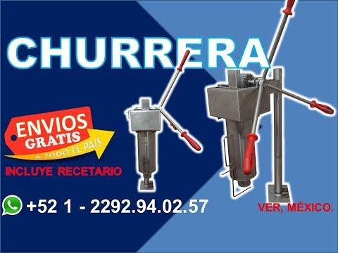 Maquina para hacer Churros - Churrera - Grupo Halley