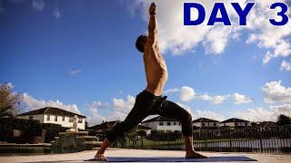 10 DAYS YOGA CHALLENGE - DAY 3 - [Gratitude & free Flowing]