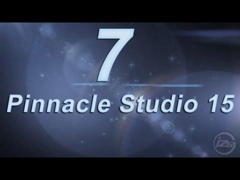 7_Видео монтаж в Pinnacle Studio 15 - урок 1