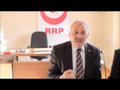 Bbp  Teftiş Kurulu Başkanı Ali Keser'Den Çarpıcı Açıklamalar
