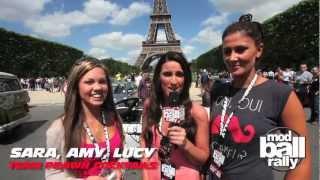 Modball Rally Europe 2012 - Paris to Lyon