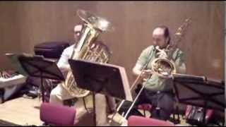 Wagner Siegfried Act 2 contrabass trombone + tuba