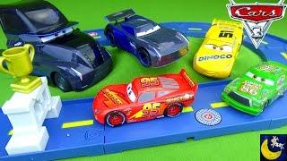 Disney Cars 3 Toys Jackson Storm Truck Hauler Gale Beaufort Lightning McQueen Chick Hicks Cruz Toys
