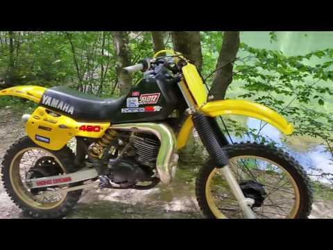 1984 yamaha yz490 beast is alive and growlin!!!