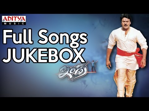 Indra Movie Full Songs II Jukebox II Chiranjeevi, Aarti Agarwal, Sonali Bendre