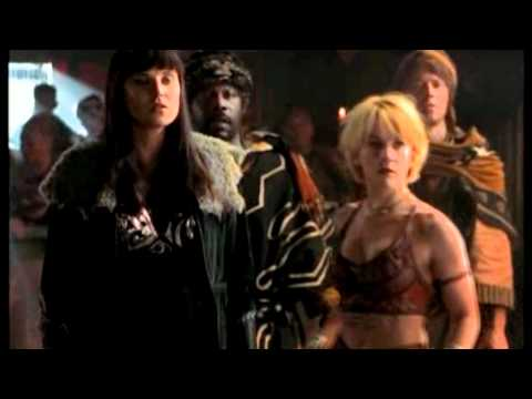 Xena, Gabrielle and Ares - Gotta be somebody