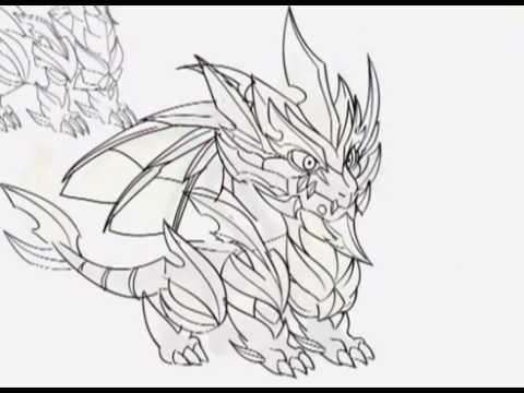 Dibujos de colorear de dragon citi - Imagui
