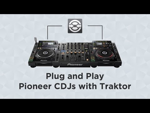 Plug and Play Pioneer CDJs with Traktor