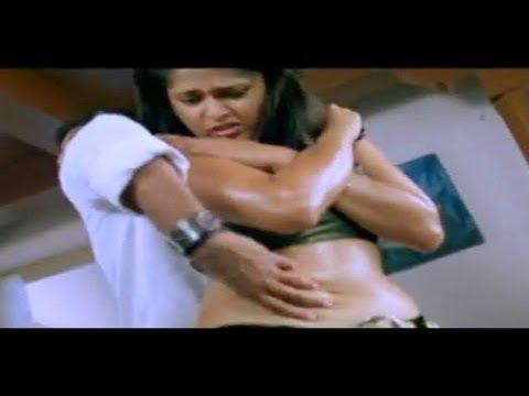 Souryam | Anushka Shetty Hot Navel Scene