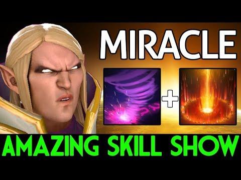 Miracle- Dota 2 [Invoker] Amazing Skill Show
