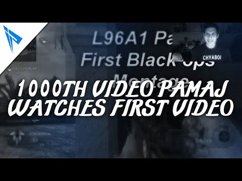 1000th Video! Pamaj Watches First Video Ever!