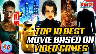Top 10 Best Movies Based on Video Games | Explained in Hindi | Movies Universe