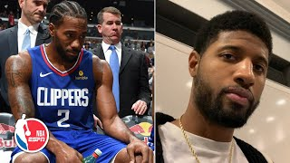 Paul George: It's smart for Kawhi Leonard to sit the 2nd game of Clippers back-to-backs | NBA Sound