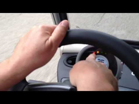 Garia Golf Cart Test Drive