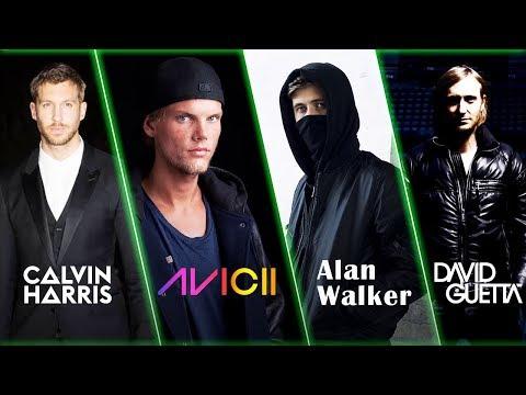 Alan Walker, Avicii, David Guetta, Calvin Harris Greatest Hits - Best EDM Hits Songs 2020