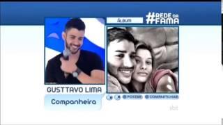 Gusttavo Lima recebe mensagem apaixonada da Andressa Suita no Programa da Eliana