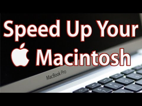How to Speed Up Your Macbook and iMac