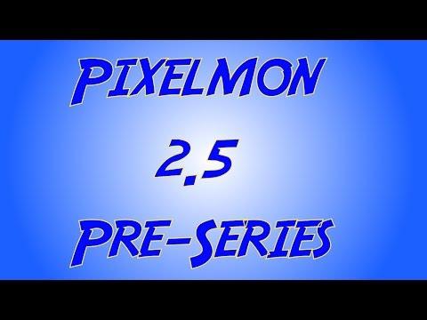 Minecraft PIXELMON MOD 2.5 PRE-SERIES