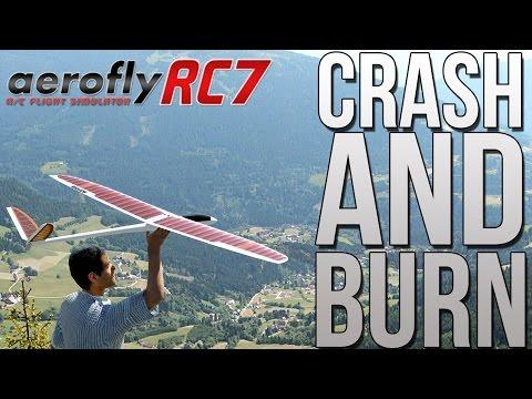 Aerofly RC 7 - The R/C Flight Simulator - I Can't Fly :( [HD 60 FPS]