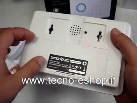PROGRAMMAZIONE ACCESSORI ALLARME G5(HOME DEFENDER HD-G005) GSM