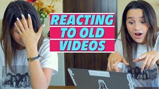 Reacting to Old Videos! | Annie LeBlanc