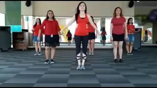 LAGI SYANTIK - SITI BADRIAH (Line Dance) Koreo TYA PAW
