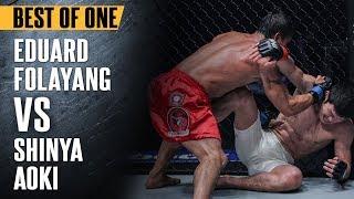 "ONE: Best Fights | Eduard Folayang vs. Shinya Aoki | ""The Landslide"" Shocked The World | Nov 2016"