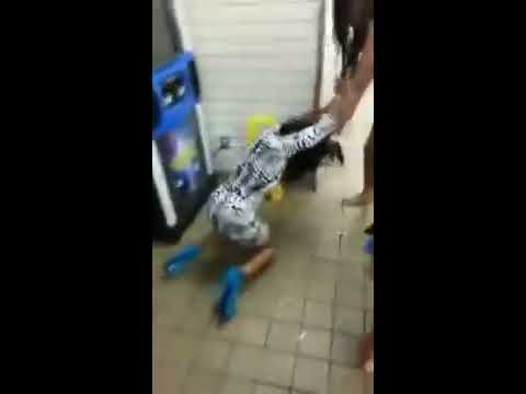 Hoes Fighting In Restaurant (uncensored) video