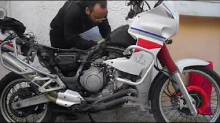 How to replace the needle jets on the YAMAHA XTZ750 carburetor -  Part 1