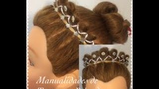 Encintado Corona de Princesa - Princess Crown Hair Weave