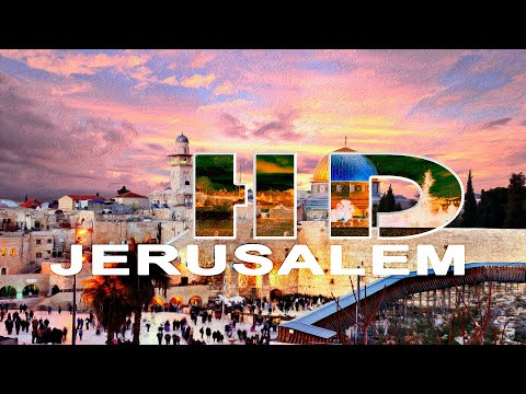 JERUSALEM - OLD CITY - A WALKING TRAVEL TOUR -  HD 1080P