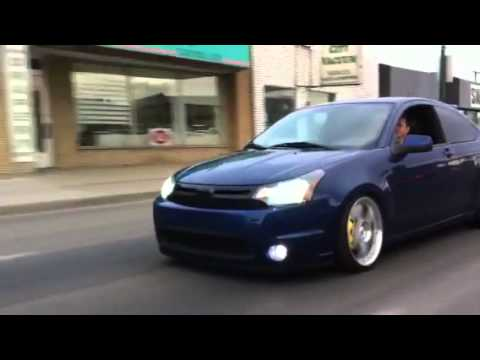 09 Ford Focus Slammed Youtube